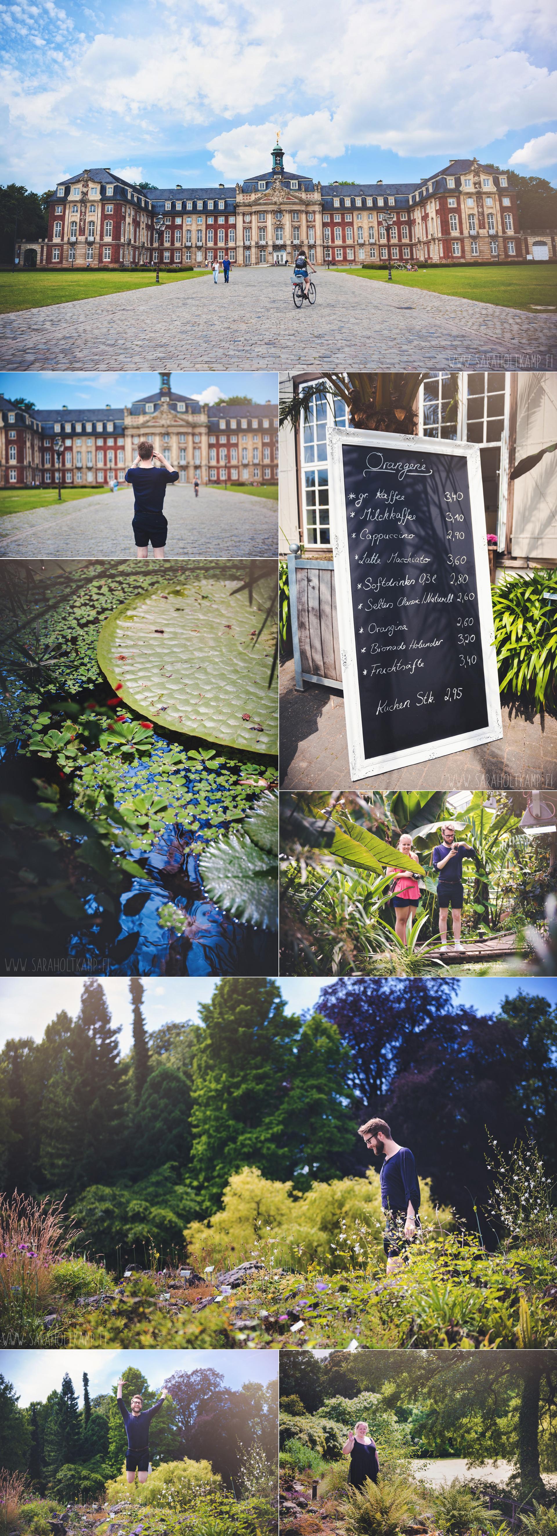 Münster botanical gardens